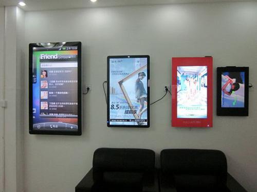 LCD液晶壁挂广告机